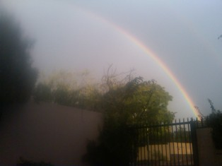 How a rainbow answered everything – project me day 110