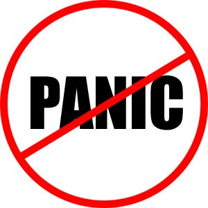So that's a panic attack – project me post 859