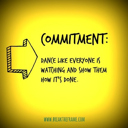 Commitment trumps resolutions – Project Me post 1053