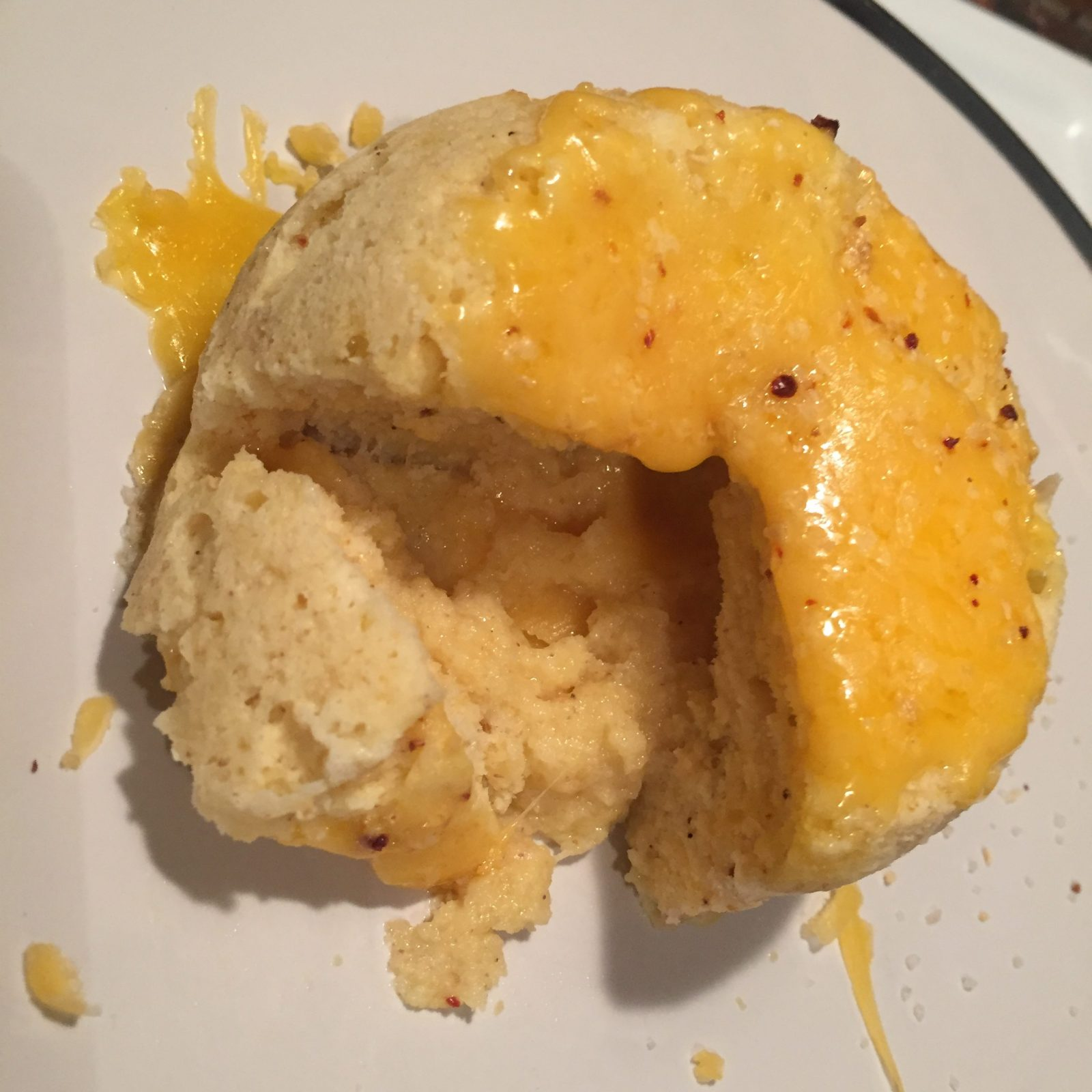 Cheesy Mug Muffin Low Carb Recipe